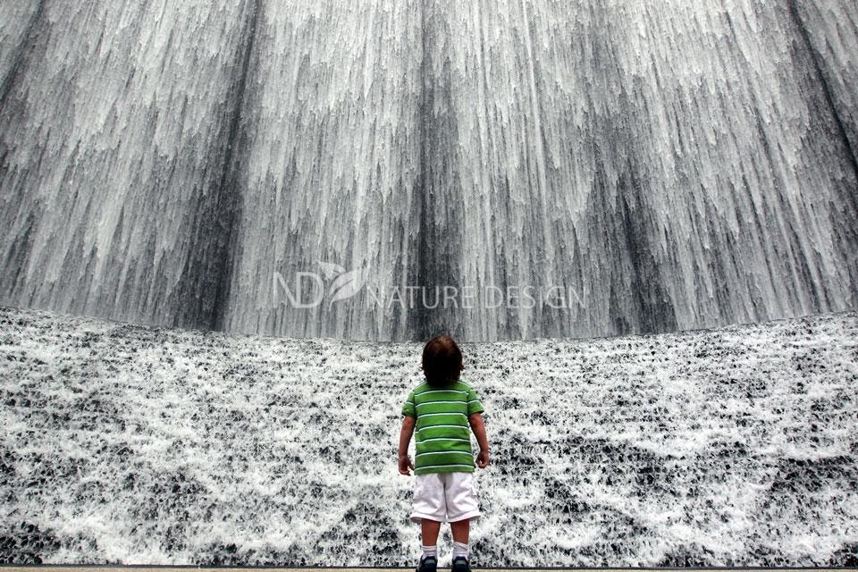 Водопад в Хьюстоне фото