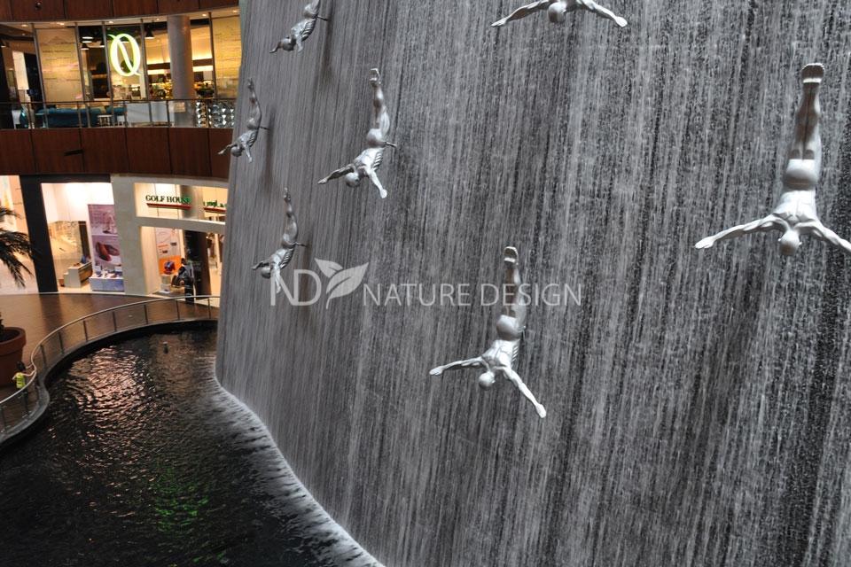 Искусственный водопад Ловцы жемчуга